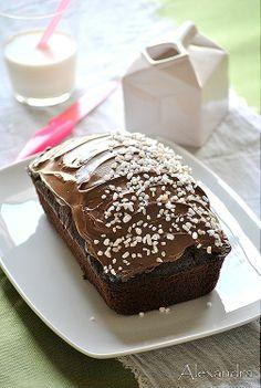 Σοκολατένιο κέικ αφρός Best Chocolate Cake, Chocolate Ganache, Greek Desserts, Delicious Deserts, Crazy Cakes, Cake Bars, Just Cakes, Healthy Sweets, Yummy Cakes