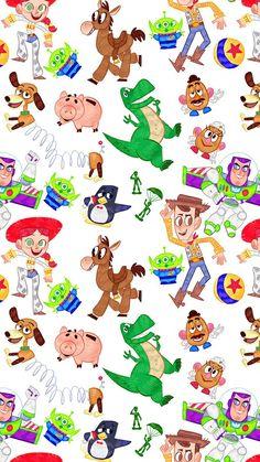 Fondos Nail Polish o&m nail polish Toy Story Movie, Toy Story Party, Toy Story Birthday, Art Disney, Disney Kunst, Disney Toys, Disney Pixar, Disney Phone Wallpaper, Iphone Wallpaper