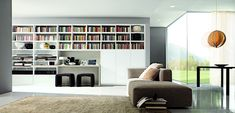 Living room designs by Gruppo Euromobil