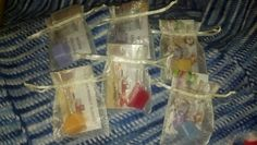 Scentsy samples for my party Thursday :-)