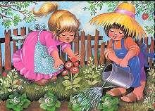 Találatok (SZO=(Füzesi Zsuzsa babarajza)) | Képeslapok | Hungaricana My Little Beauty, Seasons, Drawings, Outdoor Decor, Artist, Painting, Fictional Characters, Hungary, Weather