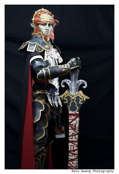 Gannondorf, Legend of Zelda cosplay.