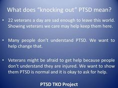 Articles On PTSD in Soldiers | PTSD TKO, Kids, Group, Veterans, Military with PTSD