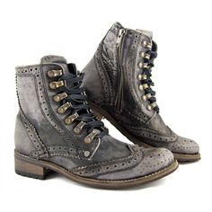 Feud Cinadine Brogue boots