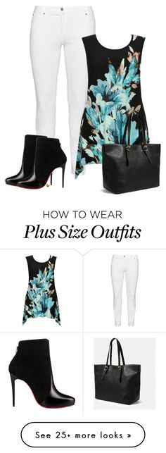 """""""Untitled #1259"""" by cardigurl on Polyvore featuring Steilmann, Judith Leiber…"""