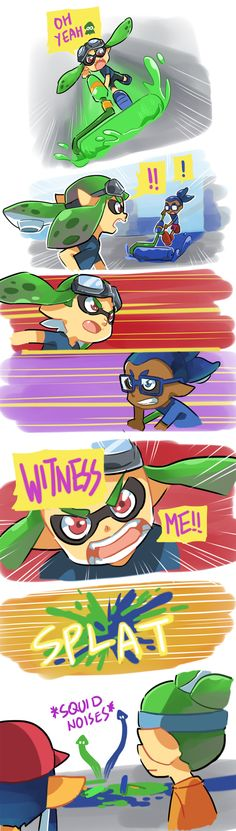 XDD everytime, this happens to me alot, but once i did splat all 4 players of the oppisite team in a row i was like #totalbadassO^O