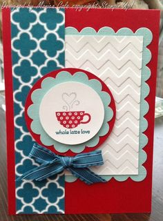 Stampin' Up! SAB 2013  by Monica Gale at My Many Passions