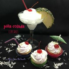 Pina Colada Cupcakes!!   http://anaffairfromtheheart.blogspot.com/2014/02/pina-colada-cupcakes.html Click this website and join https://www.facebook.com/groups/Beingathinnerhealthieryou/ Follow me for more!!! https://www.facebook.com/Carmen.devito2013 https://www.facebook.com/carmen.devito9 Follow me, LIKE & Share my pages. Skinny Body Care Team DeVito 100% ALL Natural  www.csdevito.SBC90.com
