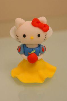Snow White Hello Kitty Cake Topper