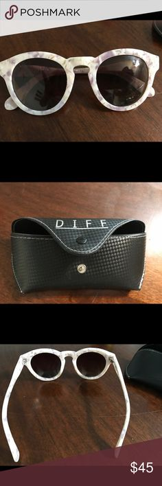 NWOT DIFF Dime II Sunglasses 😎 This is a re-posh. I purchased them brand new this week on Posh. They are in immaculate, new condition. Just not the right fit for my face. They are polarized lenses and beautiful. Add to your collection today! Diff Eyewear Accessories Sunglasses