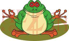 Garabatos y Garatusas: Gren Nouille, The Yogui Tree Frog