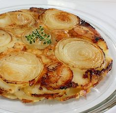 Potato, Walla Walla Onion and Gruyere Galette | Wives with Knives  This looks delightful have to try