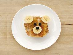 Teddybeer Toast