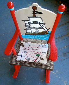 Paint Your Outdoor Rocking Chair - www.tidyhouse.info