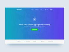Discount Landing Page Concept by Masudur Rahman  #Design Popular #Dribbble #shots