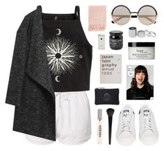"""""""cadillac"""" by jesicacecillia ❤ liked on Polyvore featuring Estradeur, H&M, adidas, Marc by Marc Jacobs, Surya, Betty Jackson, philosophy and INIKA"""