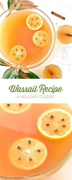 Festive Wassail is the perfect beverage for the holiday season. #recipe shewearsmanyhats.com