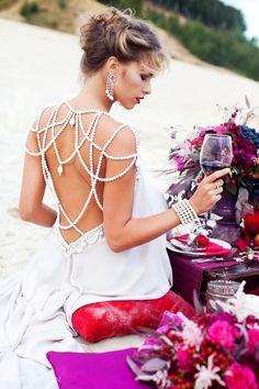 Свадебное оформление, декор свадьбы, украшение зала на свадьбу от студии флористики и дизайна NNDECOR (нндекор) Boho Wedding, Wedding Gowns, Dream Wedding, Bridesmaid Dresses, Prom Dresses, Formal Dresses, Moda Peru, Shoulder Necklace, Fairy Dress
