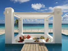 Coral Beach Club Villas & Marina Dawn Beach (St. Maarten) Set along Dawn Beach on the eastern coast of St. Maarten, this tropical resort features beautiful views of the ocean. A concierge staff is ready to assist guests with activities and special requests.