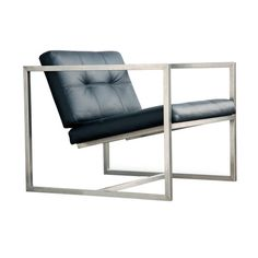 Found it at AllModern - Delano Leather Arm Chair in Black