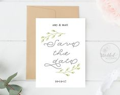 Wedding Place Cards Wedding Name Template Name Card Boho