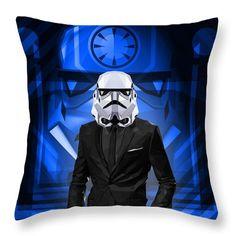 Stormtrooper Throw Pillow Star Wars Pillow Decorative Pillows Boys Room Pillows Decorative Pillows by Filip Aleksandrov