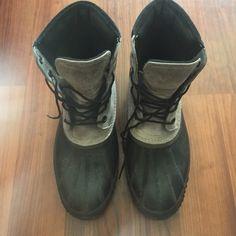 Sorel men's boots Good lightly used condition. Men's size 13 SOREL Shoes Winter & Rain Boots