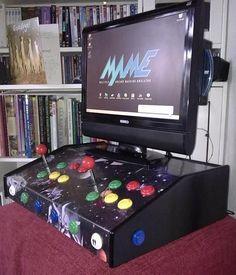 Desktop MAME arcade