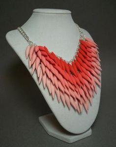 polymer clay shawl pin - Google Search
