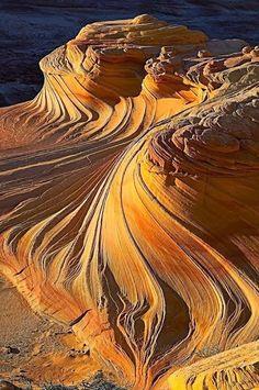 The Wave, Paria Canyon-Vermilion Cliffs, Arizona.