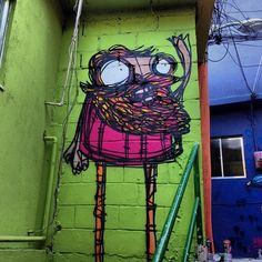 Street art | Mural by Rafo Castro