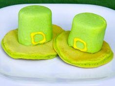 leprechaun hats pancakes