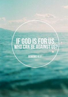 God is for us