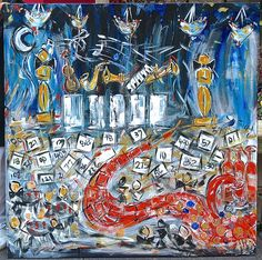 Legacy Ball Grammy Fundraiser Gala Painting 2013 - Paint Your Event