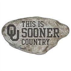 Oklahoma Sooners Country Stone