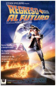 Cartel Español de Regreso al futuro