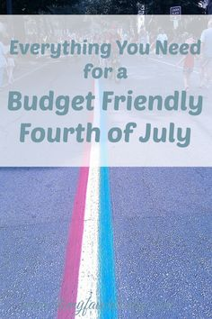 If you are looking for some ways to celebrate the 4th of July, here are five budget friendly fourth of July ideas that will cover everything you need for a great day!