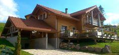 Maison Gico en Ossature Bois avec un bardage bois en meleze