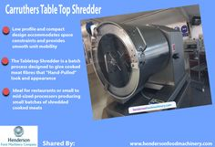 Carruthers Table Top Shredder