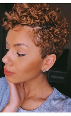 Summer 2019 #shortcurlypixie