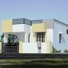 Individual House Elevation Designs In India The Best Wallpaper Simple Front Of . Modern House Elevation Kerala Plans And Elevations. House Front Wall Design, House Main Gates Design, Single Floor House Design, Craftsman Style House Plans, Modern House Plans, Small House Plans, House Elevation, Front Elevation, West Facing House