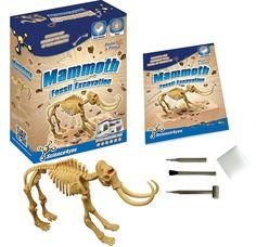 Science4you - Excavaciones fósiles mamut - juguete científico y educativo: Amazon.es: Juguetes y juegos