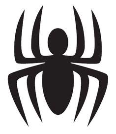 Spiderman logo for birthday balloons