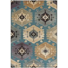Add an artful touch to your entryway or living room with this hand-hooked cotton rug, featuring a trellis motif in grey.  Product: