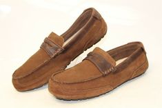 e2a9225d81d UGG Australia Uggs Mens 12 45.5 Tucker Suede Casual Loafers Shoes 1008831  cm  fashion