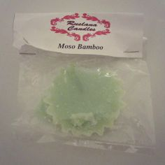 "This is the third product I've tried from Ruslana Candles, the scent is description says. ""Fresh moss and fir needle head up this nature inspired scent. Moso Bamboo, Wax Melts, Vanilla, Lime, Fragrance, Candles, Lima, Limes, Candy"