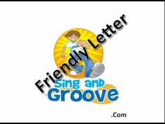 Simple song to teach parts of a friendly letter.