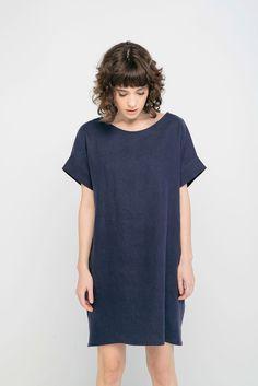 Georgia Dress in Linen from Elizabeth Suzann