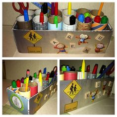 Toiler paper roll organizer and a shoe box