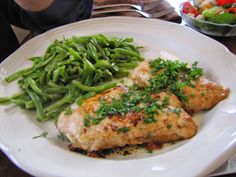 How Simple is THAT: Chicken Breast w/Wine Reduction Sauce